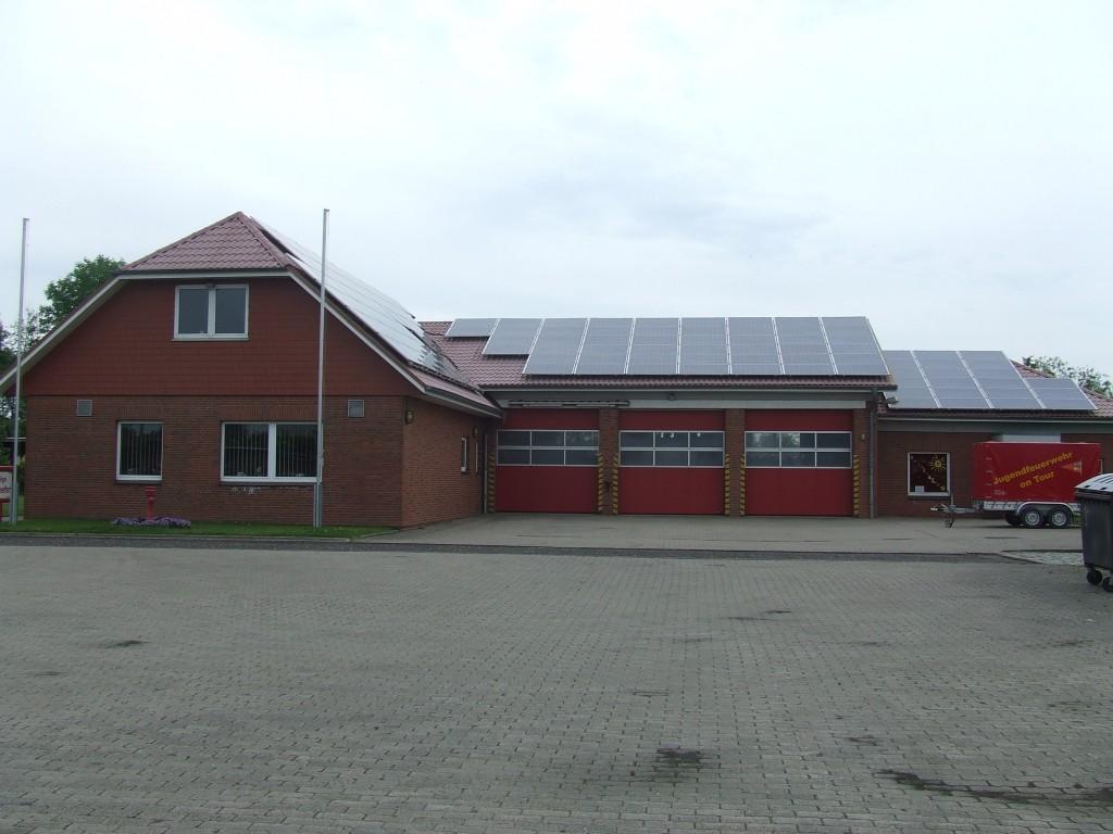 Das Gerätehaus in Eddelak